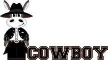 Cute Cartoon Wild West Cowboy ...