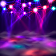 Dance Floor Banner, Light And ...