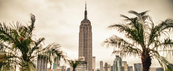 Fototapeta Beautiful architecture of New York City