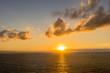 御神崎岬の美しい夕日