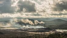 Plant Polluting Nature. Karabash