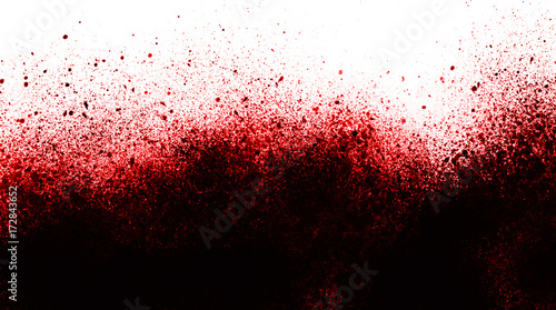 Fotografia Blood splatter background