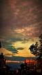 sky sunset clouds art russia sarapul sun sunny