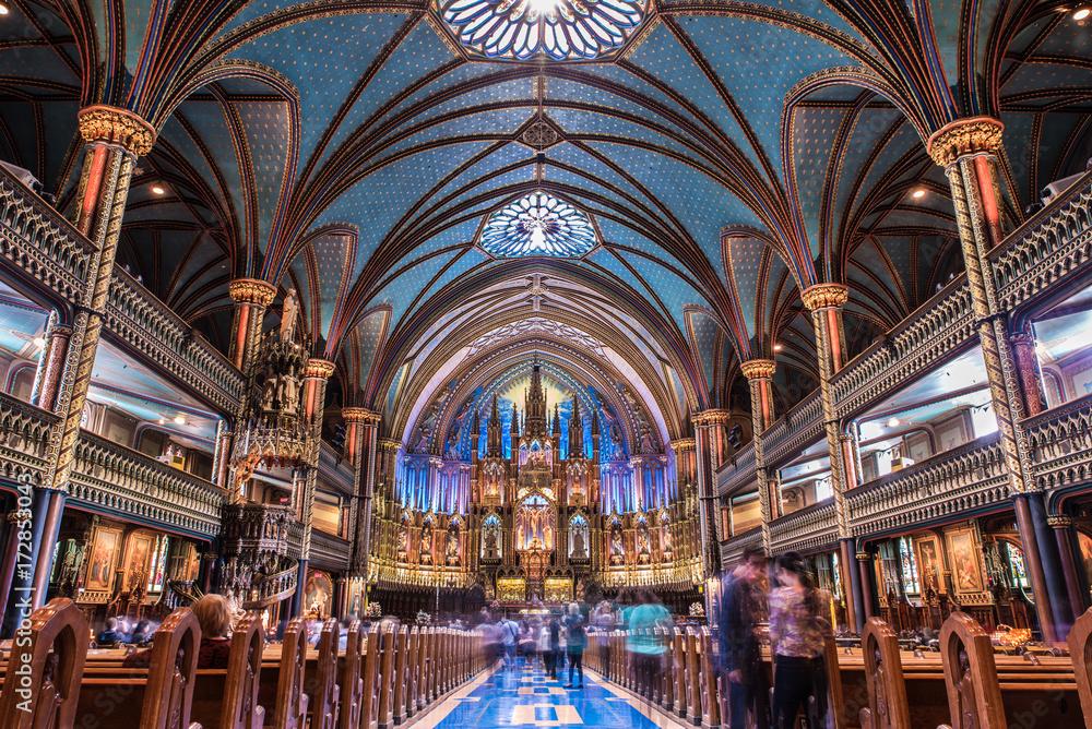 Fototapety, obrazy: Basilique notre dame de Montréal