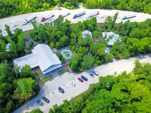 Aerial View Of Roadside Rest A...