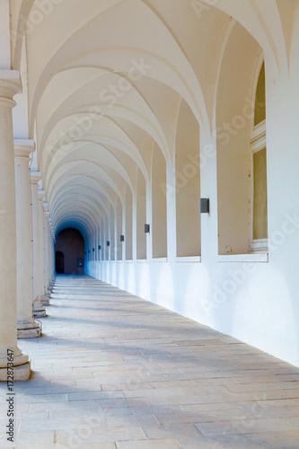 Fotografia, Obraz Arcade, Colonnade gallery