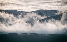 Low Clouds In The Mountains