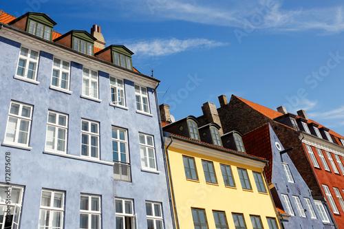 Photo  Facades in Nyhavn