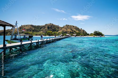 Staande foto Eiland Kanawa Island Flores Sea, Nusa Tenggara, Labuan Bajo Indonesia