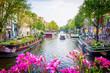 Leinwanddruck Bild Amsterdam - Netherlands