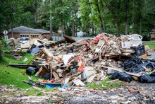 Debris From Inside Homes Hit B...