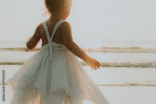 Plakát Girl in dress