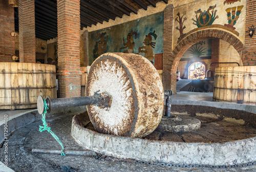 Fotografie, Obraz  Stone Grinding Wheel