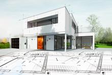 Dessin D'une Maison D'architec...
