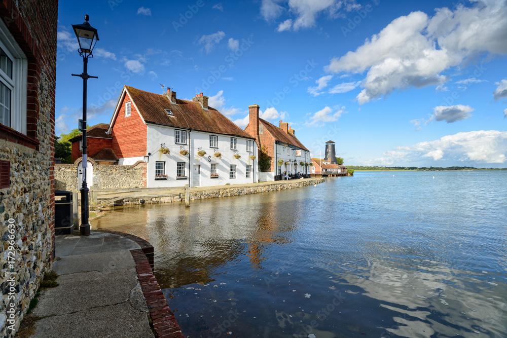 Fototapety, obrazy: Langstone Quay in Hampshire