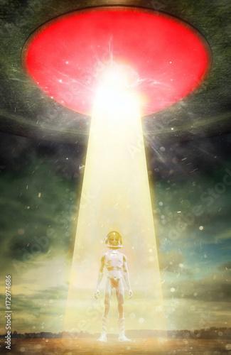Zdjęcie XXL UFO najeźdźca