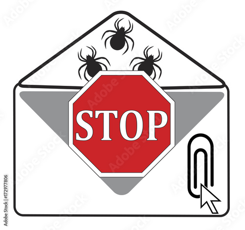 Stop opening Email Attachment  Hidden viruses and other