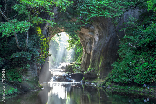 千葉県 濃溝の滝 Fototapeta