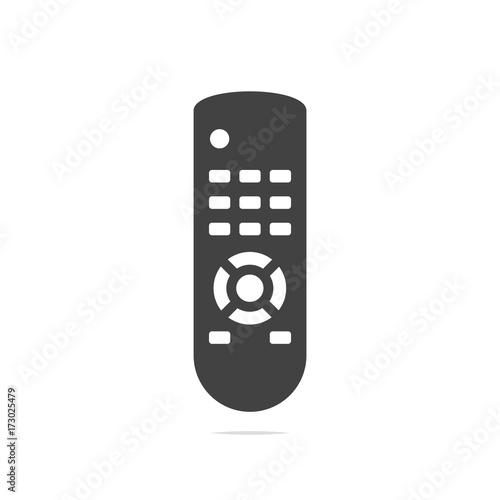 TV Remote control icon vector transparent