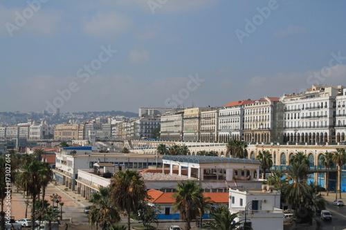 Poster Algérie Alger la blanche, Algérie