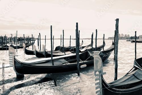 Fotografie, Obraz  Gondola on water