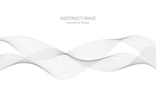 Abstract Wave Element For Desi...