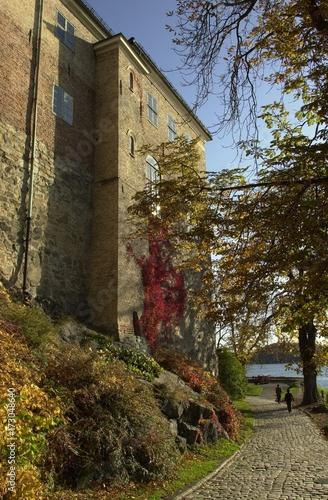 Zamek Akershus Poster