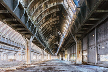 Abandoned Factory As A Result ...