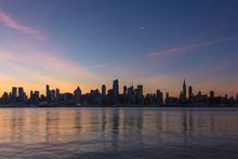 New York City - Midtown Manhattan Skyline At Dawn