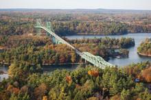 Thousand Islands Bridge Across...
