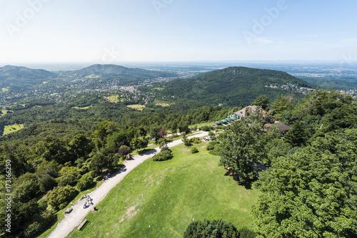 Views of Baden-Baden from Mount Merkur Canvas-taulu
