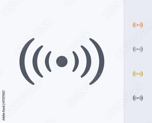 Fototapeta  WiFi Hotspot - Carbon Icons