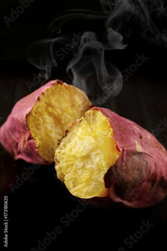 Valokuvatapetti やきいも Japanese sweet potatoes