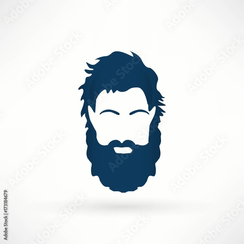 Fototapeta Człowiek z brodą