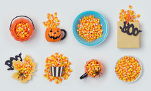 Halloween Holiday Candy Corn Collection