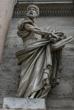 Saint Peter Statue By Francesc...