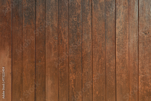 Fototapeta Wood old plank vintage texture background. wooden wall vertical plank natural with pattern for design. great for your design and texture background. copy space obraz na płótnie