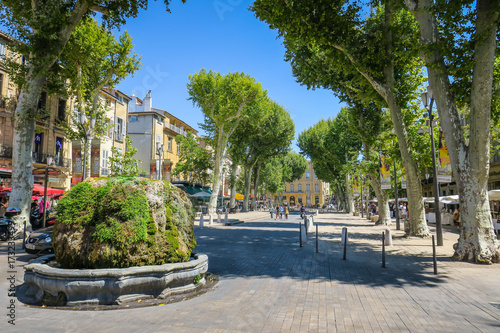 Photo Visiting Aix-en-Provence in France