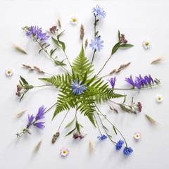 Mandala kwiatowa