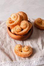 Cookies Palmiers. Sweet Puff P...