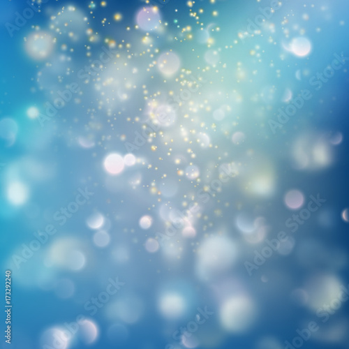 Recess Fitting Asia Country Shimmering blur background with shining lights. EPS 10 vector