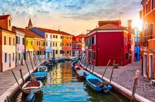 Burano Island In Venice Italy ...