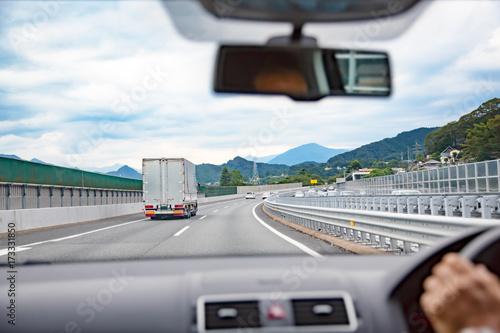 運転席からの風景