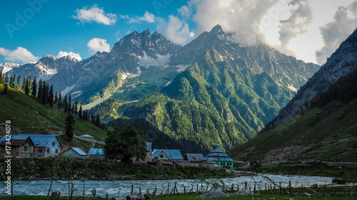 Beautiful mountain landscape of Sonamarg, Jammu and Kashmir state, India Tapéta, Fotótapéta