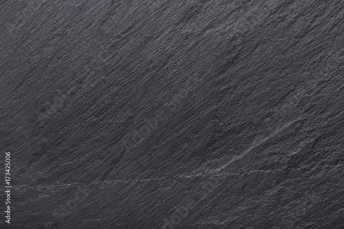 Tuinposter Stenen Black slate stone background