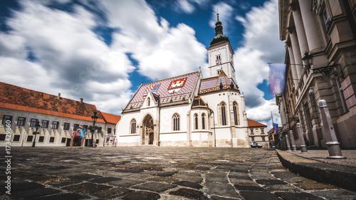 St. Marko's church Zagreb