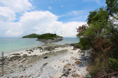 Foto op Plexiglas Cyprus Coastal area of Koh Sichang in Chonburi province,Beautiful sea view.