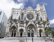 The Cathedral Of St. John The Divine, Officially The Cathedral Church Of Saint John: The Great Divine In The City And Diocese Of New York, Is The Cathedral Of The Episcopal Diocese Of New York