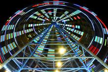 Ferris Wheel In Tbilisi Mtatsm...