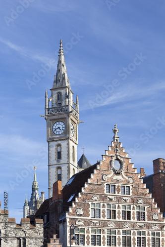 Fototapeta Old Houses In Ghent, Belgium obraz